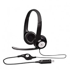 Logitech PC Black Headset-H340