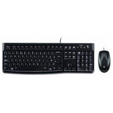 Logitech Keyboard MK120 Wired Combo